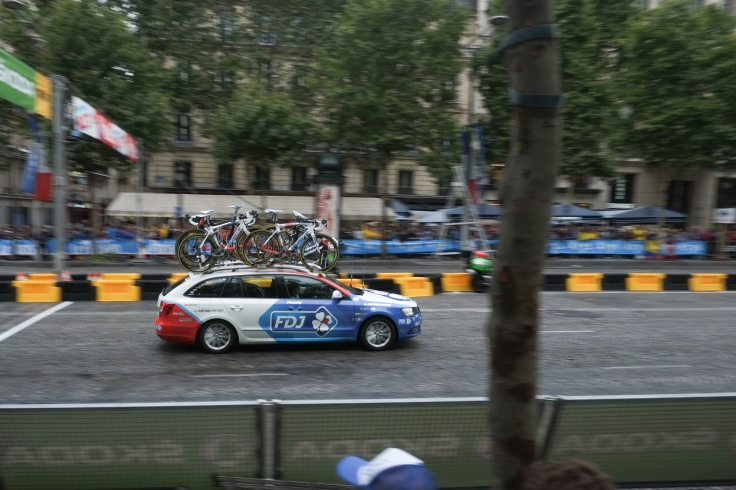 19. FDJ Team Car 2015 Tour De France