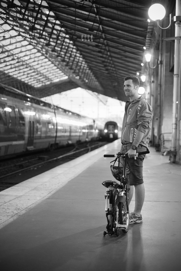 28 Paris Nord Trian Station Brompton S3l Chris